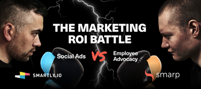 Marketing ROI Battle - live session. Smarp and Smartly